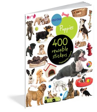 Workman Publishing Eyelike Stickers: Puppies
