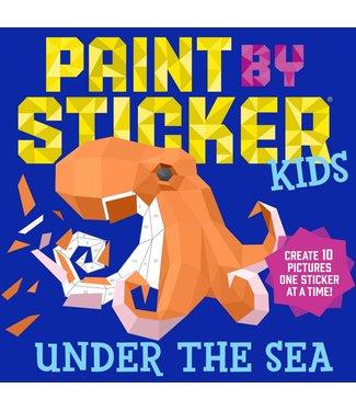 Workman Publishing Paint by Sticker kids: Under the Sea