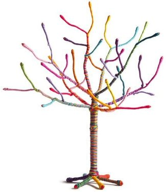 Craft-tastic Tiny Yarn Tree Kit