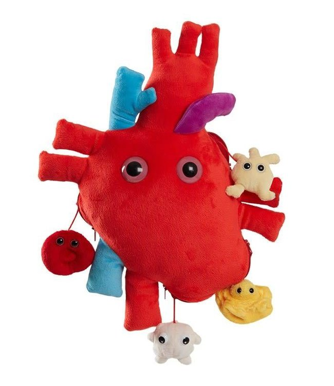 Giant Microbes Heart XL with Mini Cells