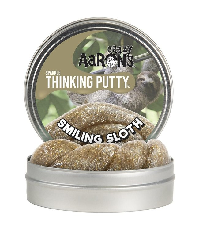 "Crazy Aaron Thinking Putty - 4"" Smiling Sloth"