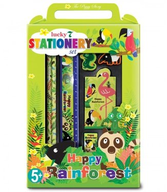 The Piggy Story Rainforest Stationary Set