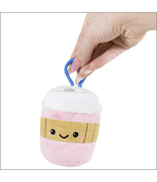 "Squishable Micro Coffee Cup - Pink (3"")"