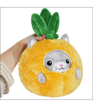 Squishable Undercover Kitty in Pineapple - 7""