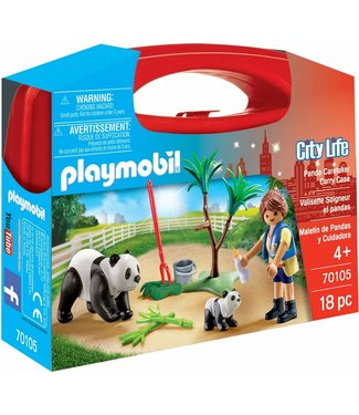 Playmobil Panda Caretaker Carry Case 70105