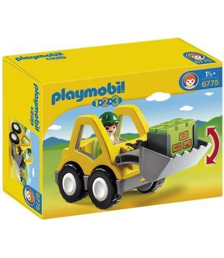 Playmobil 1.2.3. Excavator 6775