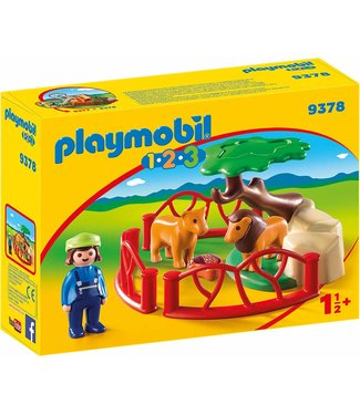 Playmobil Lion Enclosure 9378