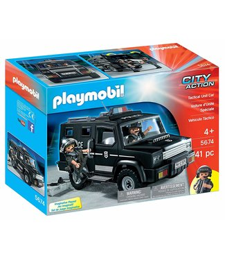 Playmobil Tactical Unit Car 5674