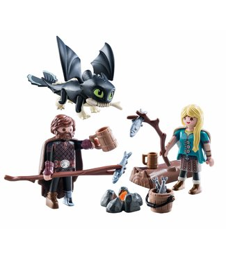 Playmobil Hiccup and Astrid Playset 9362
