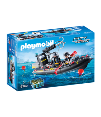 Playmobil Tactical Unit Boat -9362