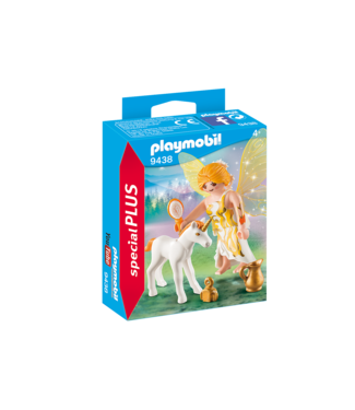 Playmobil Sun Fairy With Unicorn Foal - 9438