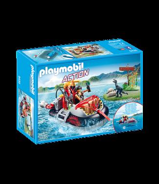 Playmobil Dino Hovercraft with Underwater Moter-9435