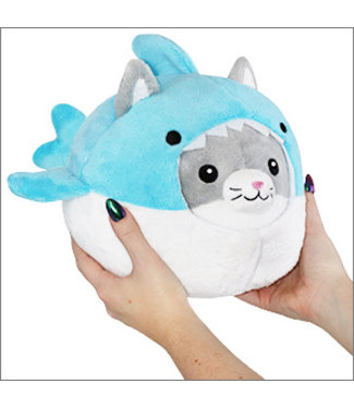 Squishable Undercover Kitty in Shark - 7""