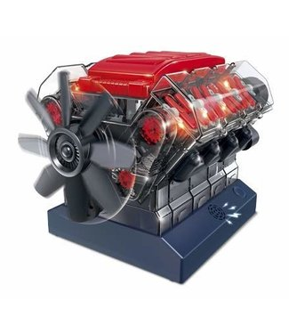 OWIKIT VROOM! STEM V8 Model Combustion Engine