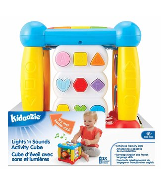 Kidoozie Lights n' sounds activity cube