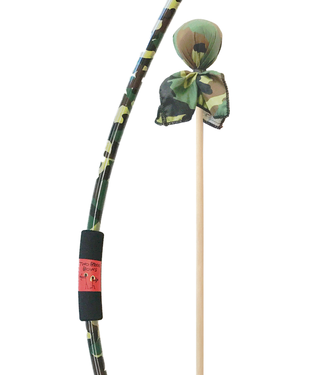 Two Bros Bows Camo Bow with Camo arrow