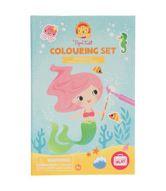 Schylling Mermaids - Coloring Set