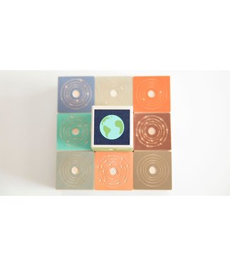 Uncle Goose Planets Block Set