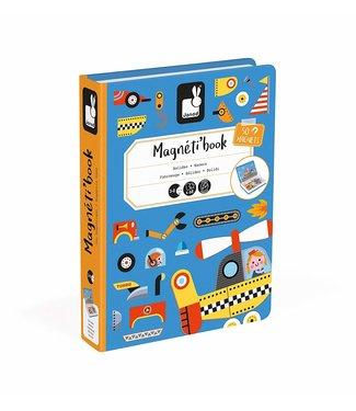 Janod Racers Magneti'Books