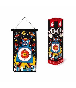 Magnetic Dart Game - Robots
