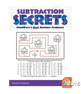 Mindware Math Mosaics: Subtraction Secrets