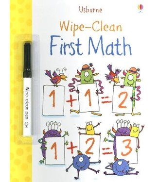 Usborne Wipe-Clean First Math