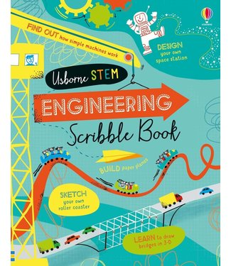 Usborne STEM Engineering Scribble Book