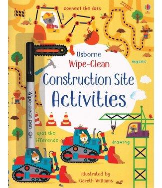 Usborne Wipe-Clean Construction Site Activities