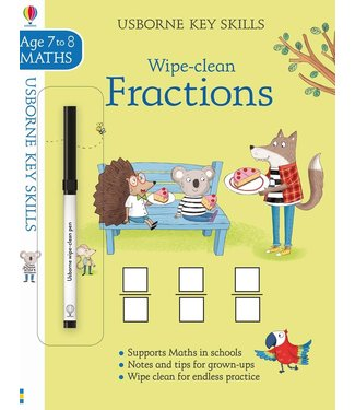 Usborne Wipe-Clean Fractions