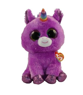 TY Rosette the Purple Unicorn Medium