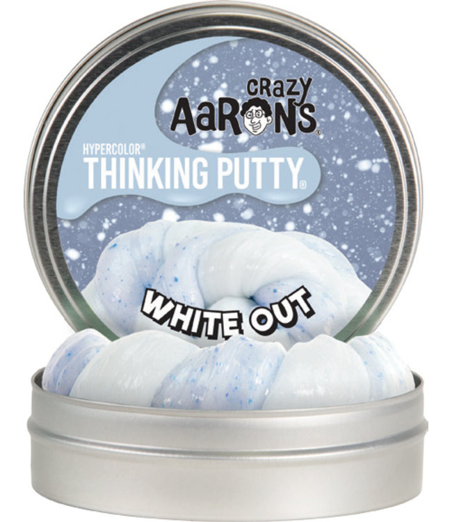 "Crazy Aaron Thinking Putty - 4"" White Out"