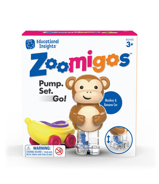 Educational Insights Monkey with Banana Zoomigos
