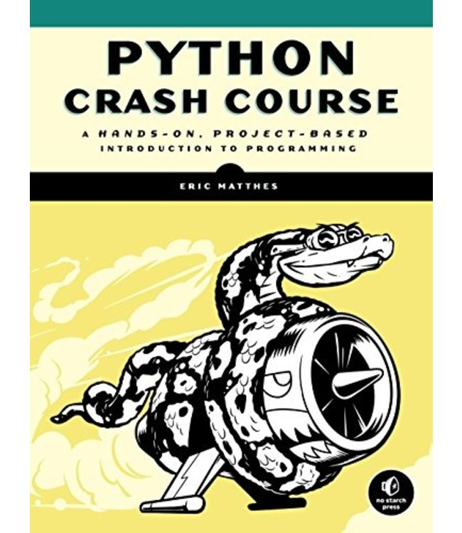 Penguin Publishing Python Crash Course: A Hands-On, Project-Based Introduction to Programming