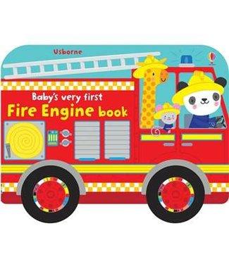 Usborne Baby's Very First Fire Truck Book