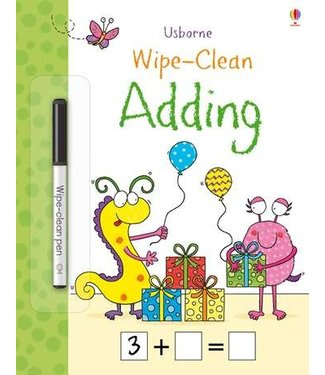 Usborne Wipe-Clean Adding