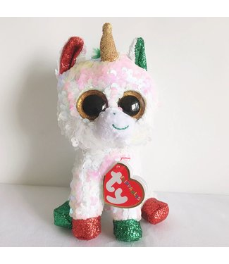 TY Stardust, Christmas Unicorn (Flippable)