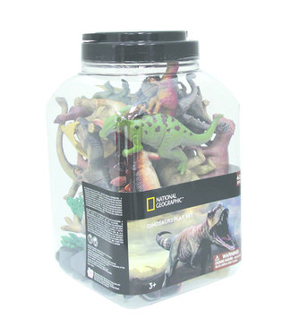 Wenno 40 pcs Dinosaurs bucket
