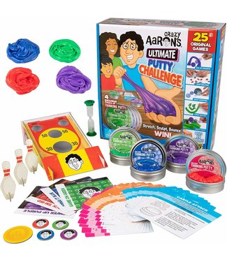 Crazy Aaron Ultimate Putty Challenge - Thinking Putty Game