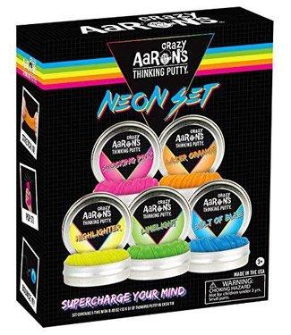 Crazy Aaron Thinking Putty - Neon Set-5 mini