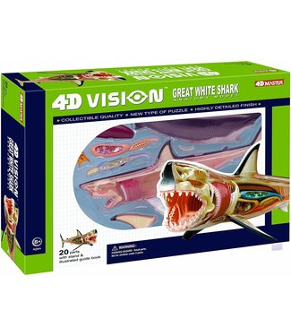 4D Master Vision Great White Shark
