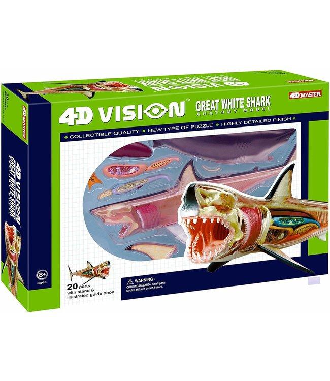 4D Master Vision Great White Shark
