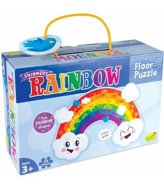 Peaceable Kingdom Rainbow Floor Puzzle