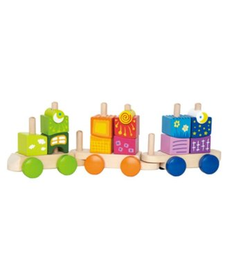 Hape Fantasia Blocks Train