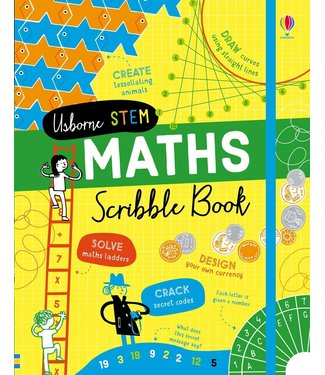 Usborne STEM Math Scribble Book