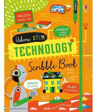 Usborne STEM Technology Scribble Book