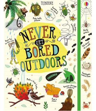 Usborne Activity Journals - Never Get Bored Outdoors Book