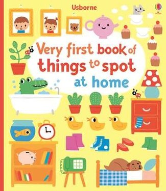 Usborne Very First Book of Things to Spot at Home