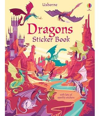 Usborne Dragons Sticker Book
