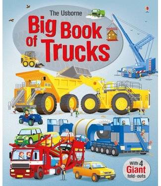 Usborne Big Book of Big Trucks