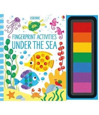 Usborne Fingerprint Activities Under the Sea